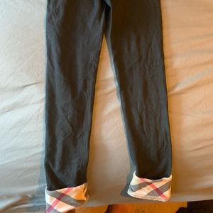 Black Burberry pants